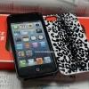 COACH CASE (ลายเสือขาวดำ) - iPhone 5, 5s