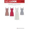 แพทเทิร์นตัดจั๊มสูทและเดรสสตรี NewLook 6509 Size: 6-8-10-12-14-16-18