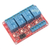 Relay 4 Channel 5V relay Active High / LOW Relay Module Shield 250V/10A