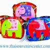 ของฝากจากไทย กระเป๋าสตางค์ช้าง (แพ็ค 5 ชิ้น คละสี) แบบ 17