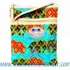 ของฝากจากไทย กระเป๋าสะพายลายช้างผ้าถุงสายหนัง แบบ 1 สีเขียวมรกต