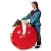 ลูกบอลโยคะนวดกาย บริหารกาย 55cm สีแดง