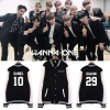 Jacket Basketball WANNA ONE 1st Name member -ระบุสี/ไซต์-