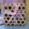ของชำร่วยบุหงาในกล่องชะลอมสี่เหลี่ยม
