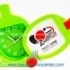 ของขวัญปีใหม่ นาฬิกาแฟนซี แบบ 2 ไม้ปิงปองกรอบรูป สีเขียว