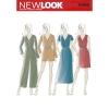 แพทเทิร์นตัดจั๊มสูทและเดรสสตรี NewLook 6468 Size: 6-8-10-12-14-16-18