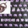 NC107 ผ้าพันคอลายช้าง ผืนใหญ่ใช้คาดหัว พันคอ