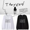 เสื้อแขนยาว Taeyeon Something New -ระบุสี/ไซต์-