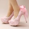 รองเท้าเจ้าสาวสีชมพู ไซต์ 34-39