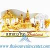 ของพรีเมี่ยม ของที่ระลึกไทย ที่วางนามบัตร แบบที่ 44 สีทองเงิน