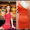 Sexy Dress 17 สีส้ม