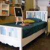 เตียงนอนสีขาว ขนาด 3.5 ฟุต