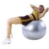 ฟิตบอล ออกกำลังกายลดหน้าท้อง ลูกบอลโยคะ FIT BALL Exercise Ball ขนาด 95cm สีเทา