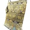 ของขวัญให้ผู้ใหญ่ กระเป๋าถือ size XL แบบ 86 สีทองดำ
