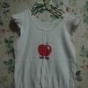 เสื้อสีขาว สกรีนรูป Apple