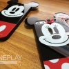 iPhone 5 / 5s - Mickey & Minnie หูกลม TPU