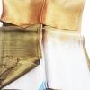 ผ้าพันคอผ้าไหม แบบ 5 สีน้ำตาลไล่เฉดสี