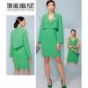 แพทเทิร์นตัดเดรส เสื้อคลุม Vogue 1536 ไซส์ปกติ Size: 6-8-10-12-14 (อก 30.5-36 นิ้ว)