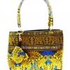 ของขวัญให้ผู้ใหญ่ กระเป๋าถือ size S แบบ 50 สีทองฟ้า
