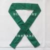 ผ้าคาดหัว พันข้อมือ พันแขน 5*110ซม สีเขียวเข้ม
