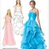 แพทเทิร์นตัดเดรสสตรี ชุดราตรี McCalls 7124 Size: 6-8-10-12-14