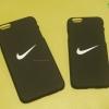 iPhone 6, 6s - เคส Nike (ไนกี้) just do it พื้นหลังสีดำ