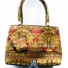 ของขวัญให้ผู้ใหญ่ กระเป๋าถือ size S แบบ 48 สีทอง-แดง