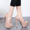 รองเท้าส้นสูงคัดชูสีนู๊ด ไซต์ 34-38