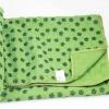ผ้ารองโยคะ กันลื่น ต่อต้านเชื้อแบคทีเรียเหมาะสำหรับผู้ที่มีเหงื่อมาก และ โยคะร้อน สีเขียว