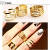 แหวนเซต 3 วงสีทอง กางเขน