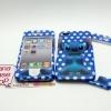 เคสหน้า-หลัง IPhone4G/ 4S ลายสติช