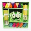 ของชำร่วย เทียนหอม Gift Set M แบบ 4 สีเขียว