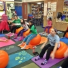 หุ่นเฟิร์ม เป็นคนใหม่ด้วยลูกบอลโยคะ (Fitness Ball) ขนาด 65cm สีส้ม