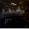 สติ๊กเกอร์เรืองแสง Dubai City a383