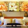 ภาพมงคลห้องพระ  ดอกบัวบานสวยๆ Art-ma