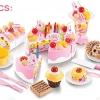 ชุดแต่งหน้าเค้กวันเกิด DIY fruit cake 75 ชิ้น