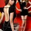 Sexy Dress 21 สีดำ