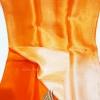 ผ้าพันคอผ้าไหม แบบ 3 สีส้มไล่เฉดสี