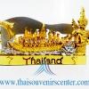 ของพรีเมี่ยม ของที่ระลึกไทย ที่วางนามบัตร แบบที่ 46 สีทองผสมเงิน