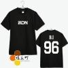 เสื้อยืด iKON name -ระบุไซต์/สมาชิก-