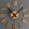 นาฬิกาไดคัท อะคริลิค สีบอร์นทอง gear12