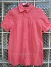 เสื้อแฟชั่นผ้า cotton สีชมพูสวยสดใส แขนตุ๊กตา ตัวใหญ่สวมใส่สบาย