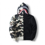 Jacket Hoodie Aape Bape SHARK BLACK-CAMOUFLAGE-ระบุไซต์-
