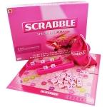 scrabble สีชมพู