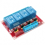 Relay 4 Channel 5V relay Active High/Low Relay Module Shield 250V/10A