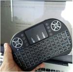 Mini Keyboard Glink เม้าส์คีย์บอร์ดมินิไร้สาย ฟังก์ชั่นทัชแพด มีไฟ (พิมพ์ไทยได้) แท้