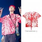 เสื้อยืด PEACEMINUSONE PMO TIE-DYE #3 (RED) Sty.GD -ระบุไซต์-