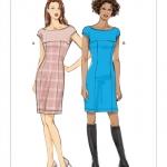 แพทเทิร์นตัดเดรสเข้ารูป ต่ออก Vogue 9196 ไซส์ปกติ Size: 6-8-10-12-14 (อก 30.5-36 นิ้ว)