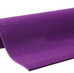 เสื่อโยคะ ขนาด 6 มิลลิเมตร - สีม่วง แถม สายรัด+กระเป๋า