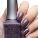 Morgan Taylor - Met My Match โทนสีเทาสโมค์ สวยเก๋